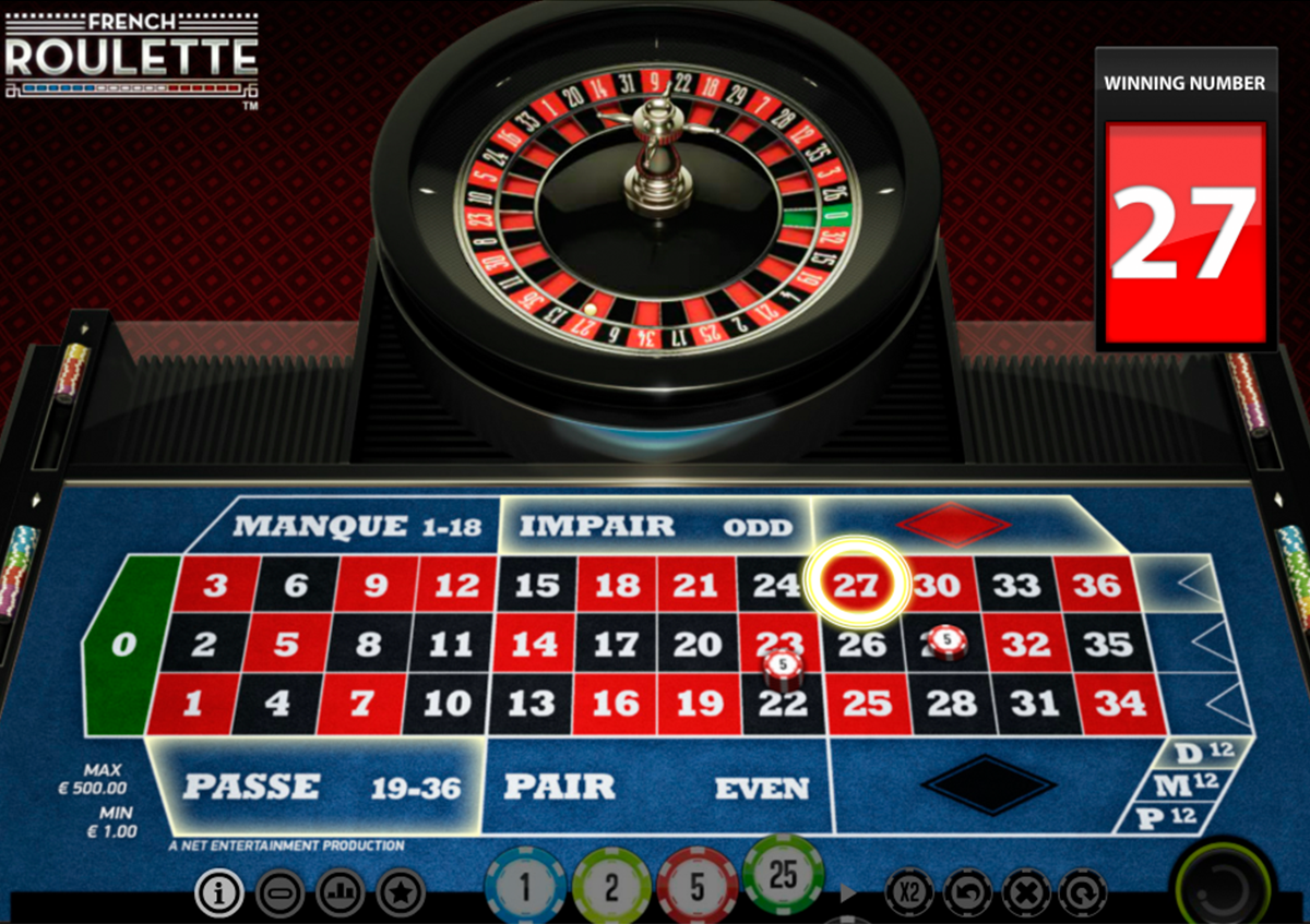 french roulette netent online