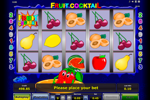 fruit cocktail novomatic spielautomaten
