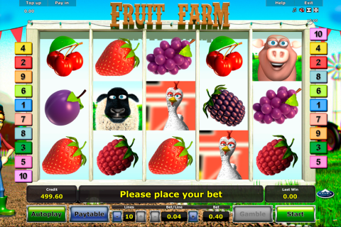 fruit farm novomatic spielautomaten