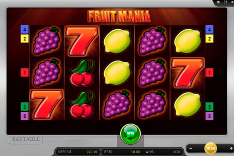 fruit mania bally wulff spielautomaten