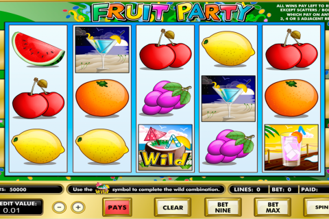 fruit party amaya spielautomaten
