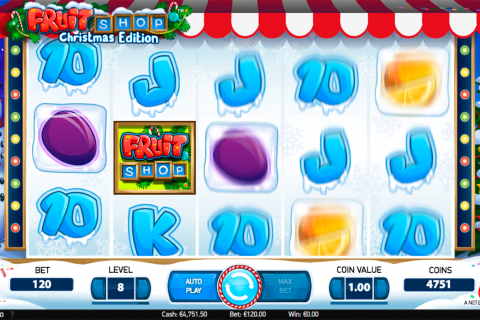 fruit shop christmas edition netent spielautomaten
