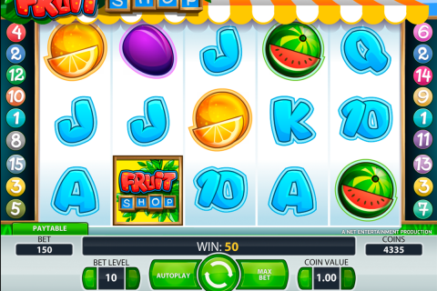 fruit shop netent spielautomaten