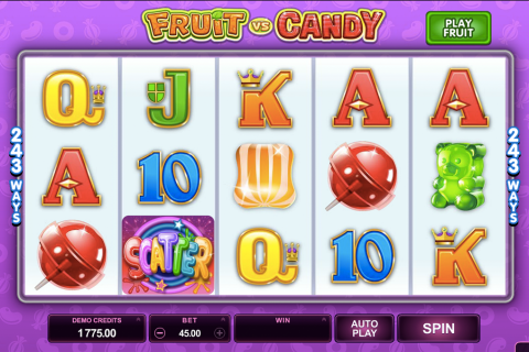 fruit vs candy microgaming spielautomaten