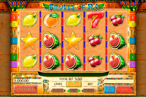 fruits of ra playson spielautomaten