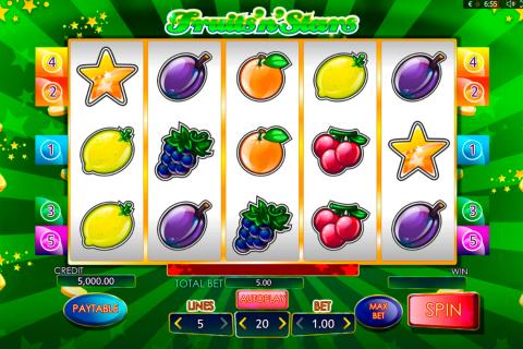 fruitsnstars playson spielautomaten