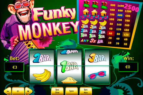 funky monkey playtech spielautomaten