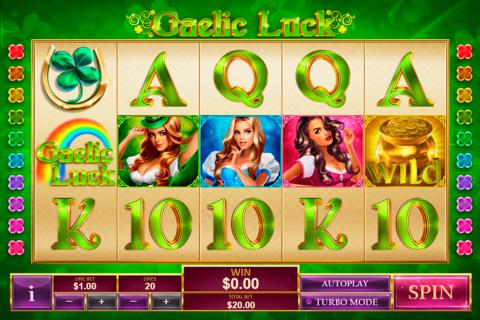 gaelic luck playtech spielautomaten