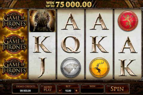 game of thrones  lines microgaming spielautomaten