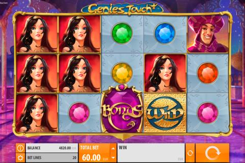 genies touch quickspin spielautomaten