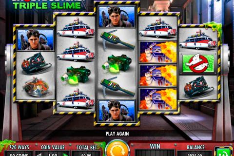 ghostbusters triple slime igt spielautomaten