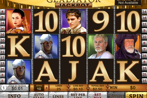 gladiator jackpot playtech spielautomaten