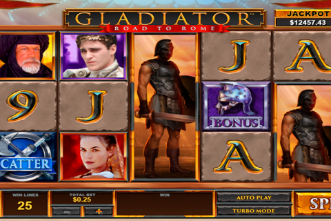 gladiator road to rome playtech spielautomaten