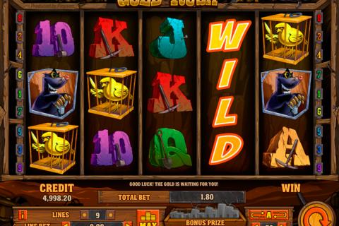 gold rush playson spielautomaten