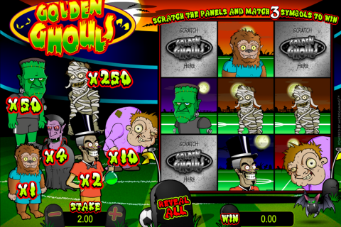 golden ghouls microgaming online