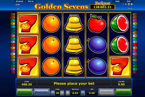 golden sevens novomatic spielautomaten
