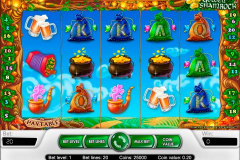 golden shamrock netent spielautomaten
