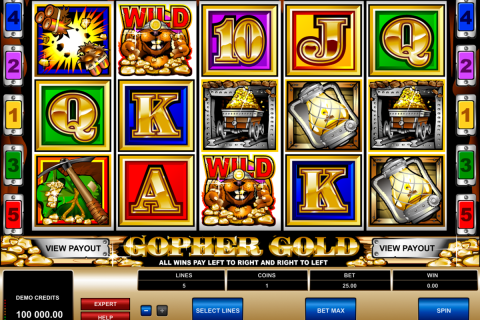gopher gold microgaming spielautomaten