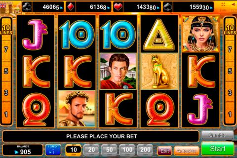grace of cleopatra egt spielautomaten