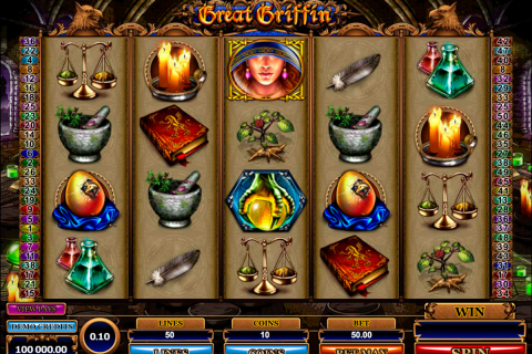 great griffin microgaming spielautomaten