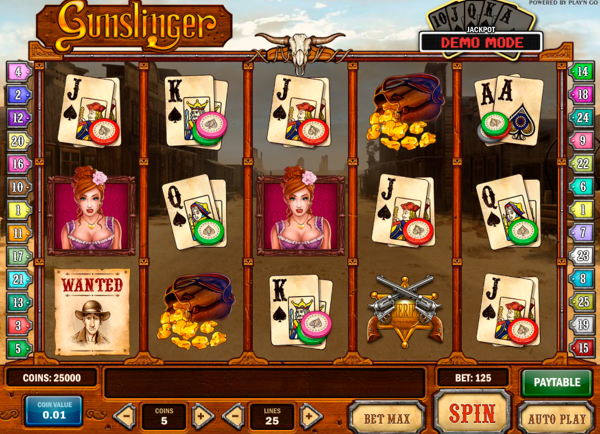 Spiele Gunslinger - Video Slots Online
