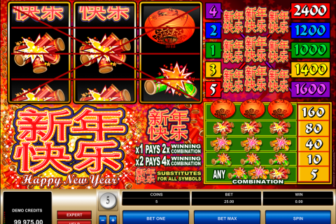 happy new year microgaming spielautomaten
