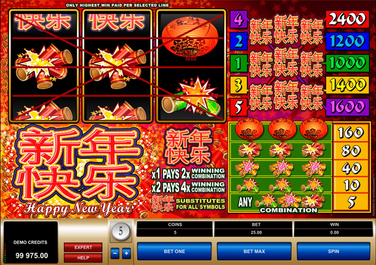 Spiele Happy New Year - Video Slots Online