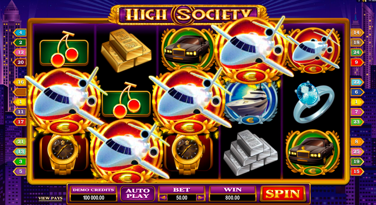 Spiele High Society - Video Slots Online
