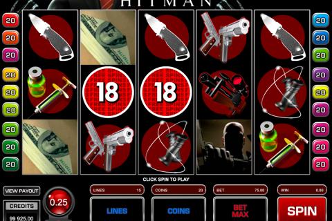 hitman microgaming spielautomaten