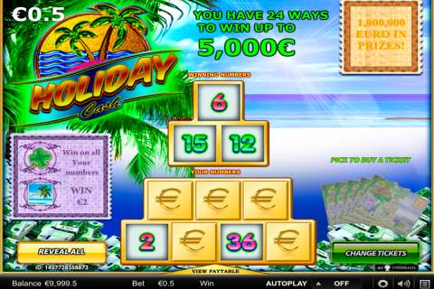 holiday cash yggdrasil online