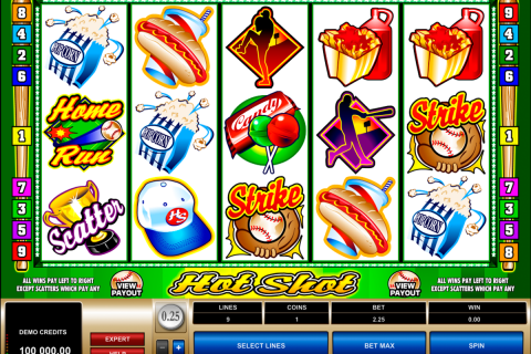 hot shot microgaming spielautomaten