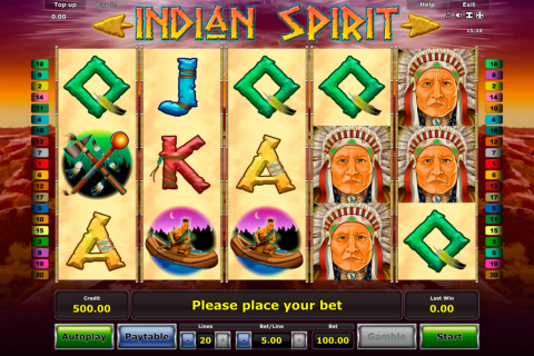 indian spirit novomatic spielautomaten