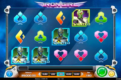 iron girl playn go spielautomaten