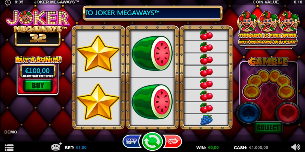 joker megaways games inc