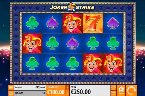 joker strike quickspin spielautomaten