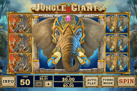 jungle giants playtech spielautomaten