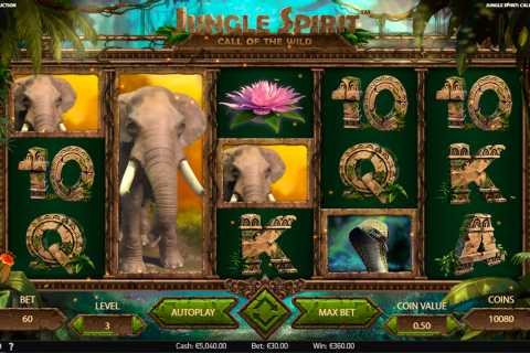 jungle spirit call of the wild netent spielautomaten