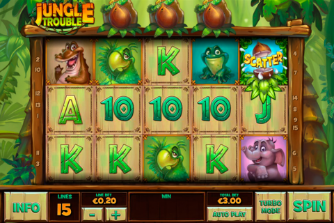 jungle trouble playtech spielautomaten