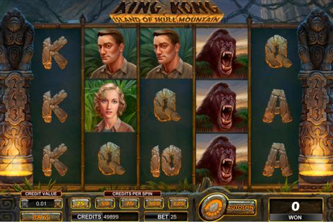 king kong skull mountain amaya spielautomaten