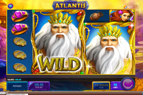 king of atlantis igt spielautomaten