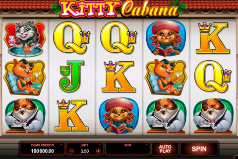 kitty cabana microgaming spielautomaten