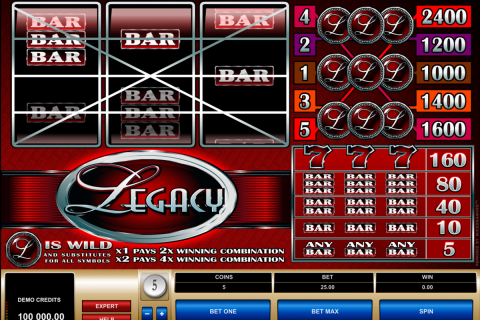 legacy microgaming spielautomaten