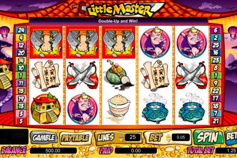 little master amaya spielautomaten
