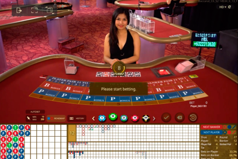 live baccarat microgaming online