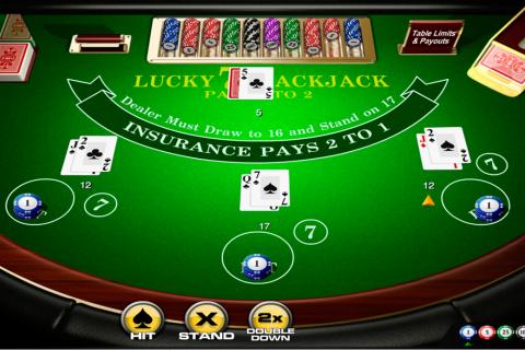 lucky  blackjack amaya online