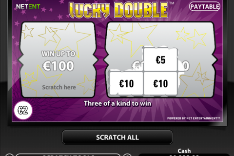 lucky double netent online
