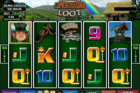 lucky leprechauns loot microgaming spielautomaten