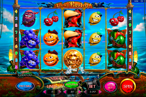 lucky pirates playson spielautomaten