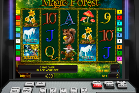magic forest novomatic spielautomaten