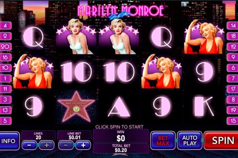marilyn monroe playtech spielautomaten